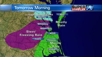 SNOW Tomorrow?