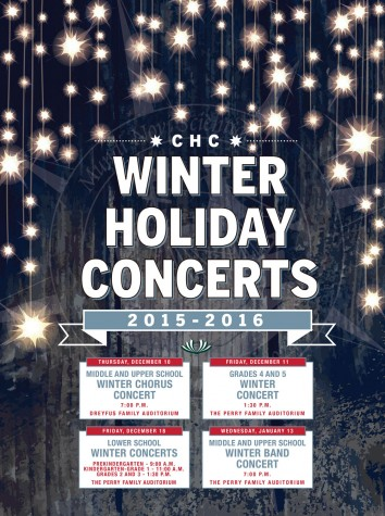 Winter Holiday Concert Season is Here