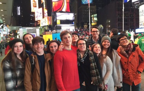 CHC Students Paint the Town in NYC