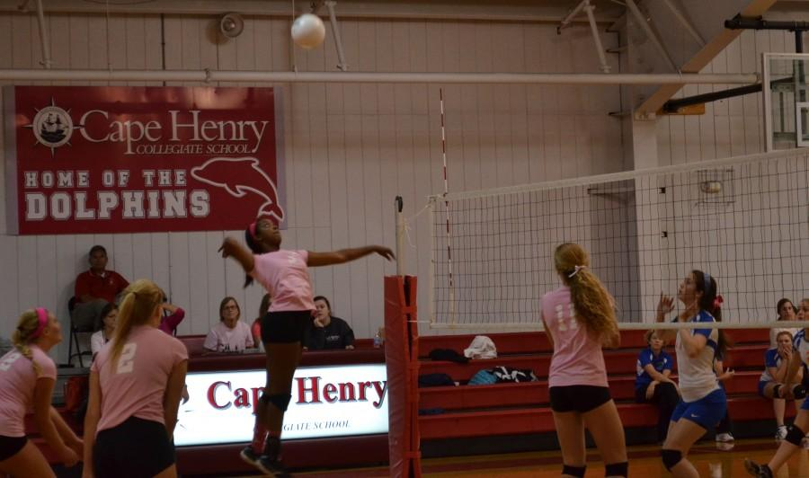 Varsity Volleyball knows all about teamwork
