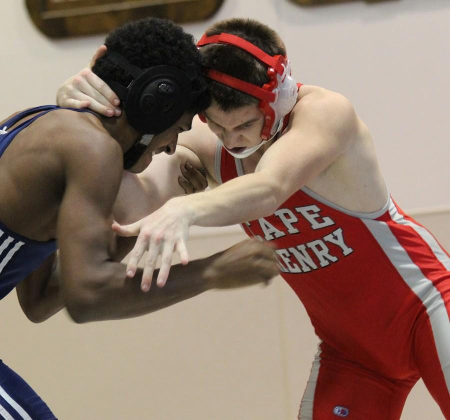 Cape Henry wrestlers grapple their opponents