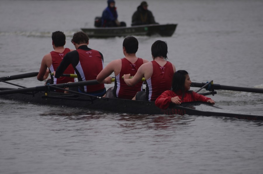 One of the boats at a recent regatta