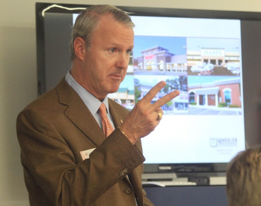 Mr. Wheeler inspires CHC students