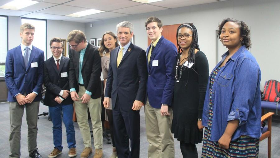 Congressman Rigell visited CHC for Veteran's Day