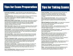 Exam Study Tips From Seniors