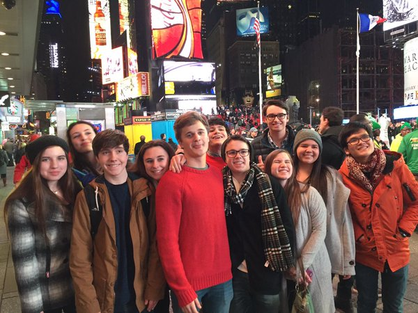 CHC theater students enjoy Broadway delights