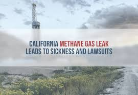 Methane Leak in CA