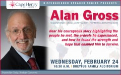 Mr. Alan Gross captivated the CHC community speaking about the challenges of his imprisonment