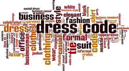The Code of Dress:  Males