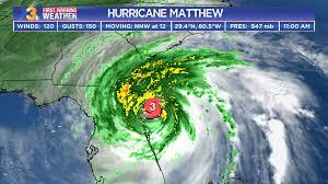 Hurricane Matthew Storms Through Tidewater