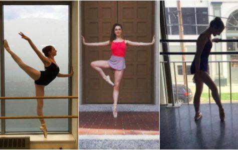 Sarah Blais takes standing tall to a whole new level.  Photos courtesy of Sarah Blais