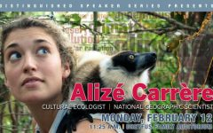 CHC Distinguished Speaker – National Geographic Explorer, Alizé Carrère