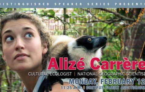 CHC Distinguished Speaker – National Geographic Explorer, Alizé Carrère