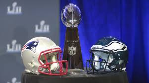 The battle for the Lombardi trophy this year between the Eagles and the Patriots kept the fans on the edge of their seats!  Photo Credit:  si.com