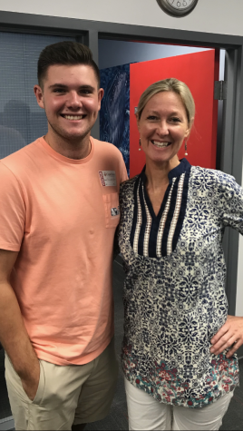 #whychc - Mrs. Speight and Grayson Pearce - Class of 2018
