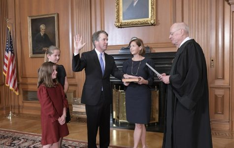 Kavanaugh Sworn in as 114th Justice to the Supreme Court