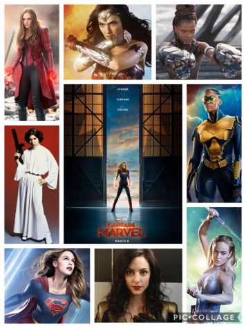 Powerhouse Women Take Over Superhero Scene