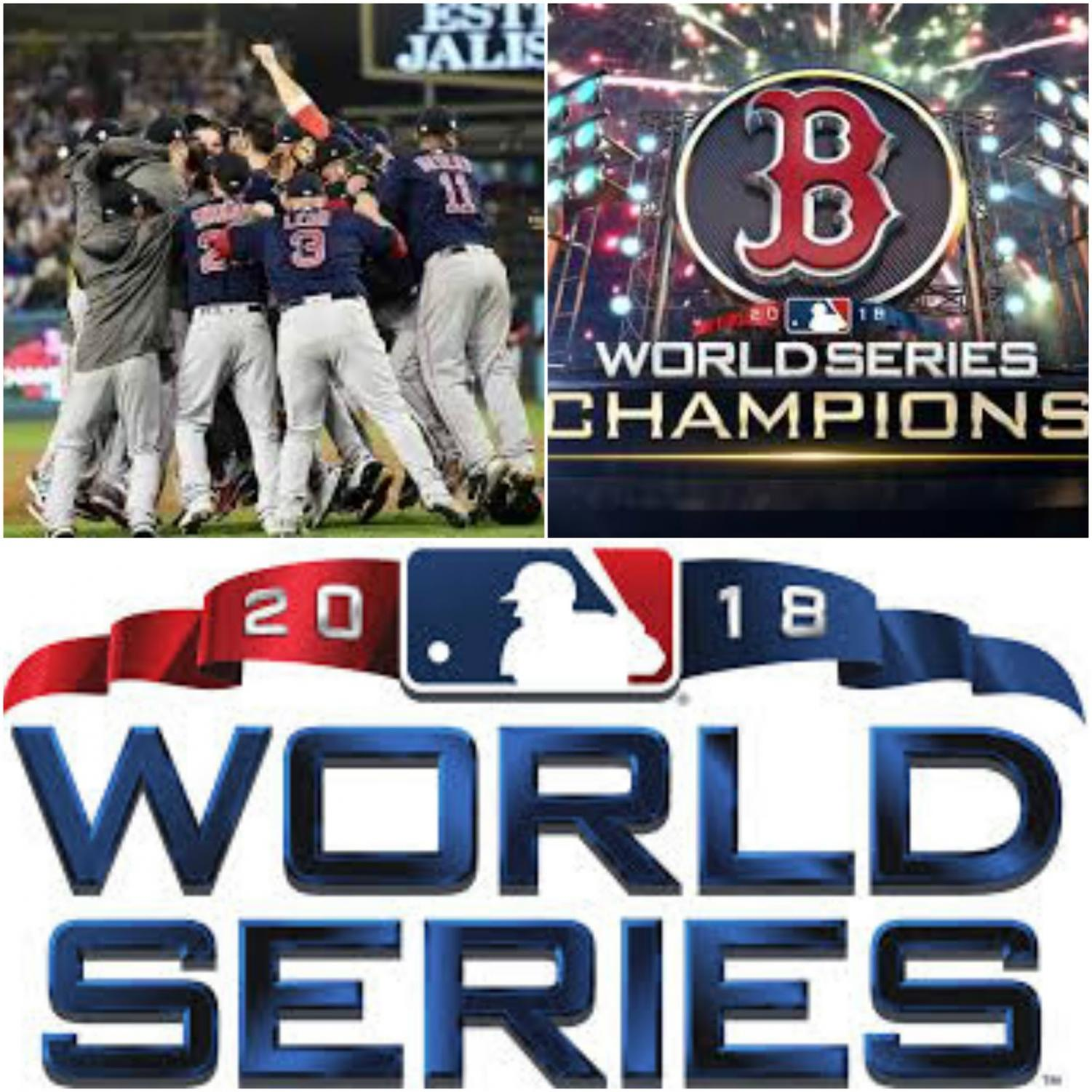 "Boston Red Sox won the World Series in 5 games over the Los Angeles Dodgers. When Cole Downs was asked about the 2018 World Series he responded, ""The Red Sox are just a great team!"" The Dodgers tried to rebuild their team this year after their loss in the World Series last year against the Houston Astros, but once again they came short. Photo credits: Top Left: Fox5dc.com, Top Right: kktv.com, Bottom: wikipedia.org"