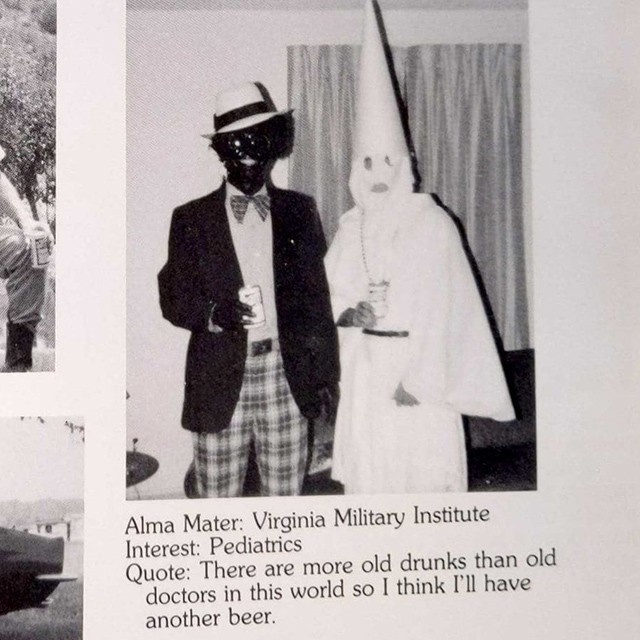 Whether or not Ralph Northam appears in this photo, the allegation has damaged his reputation and placed his ability to lead the state as Governor into question.
