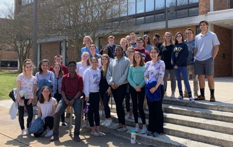 CHC Students Explore ODU's Cadaver Lab