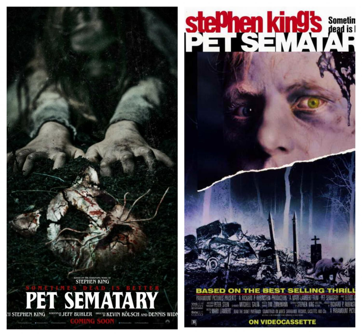 The 1989 version of Stephen King's infamous novel, Pet Sematary, returned this April with a modern day horror feel.