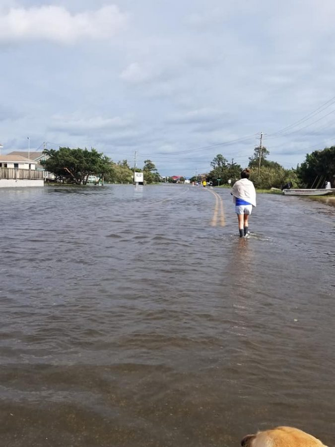 Main road to Hatteras destroyed by Dorian leaving hundreds stranded