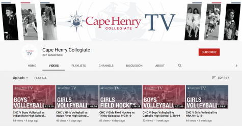 Shown in the photo above is a snapshot of CHC TV's youtube channel featuring a plethora of recorded games