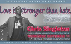 Thoughts on Chris Singleton, Distinguished Speaker