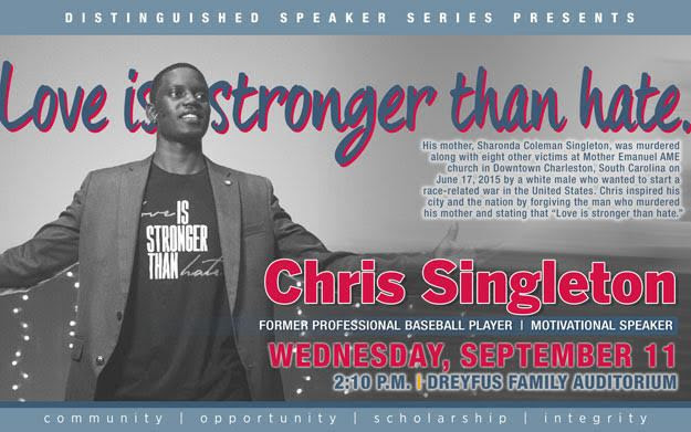 Chris Singleton's Message