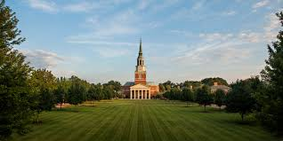 Wake Forest University, located in Winston-Salem NC, is Caroline Dixon's top school.  Photo Courtesy of: collegeconsensus.com