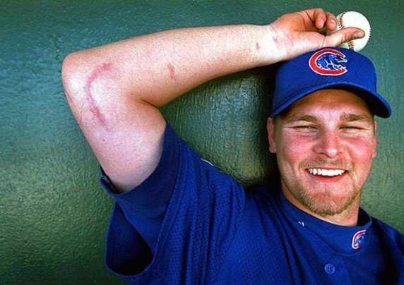 Kerry wood pitcher for the cubs received UCL surgery in summer of 1999.  Kerry Wood went on to pitch for 13 years after his surgery and is one example of a successful story.