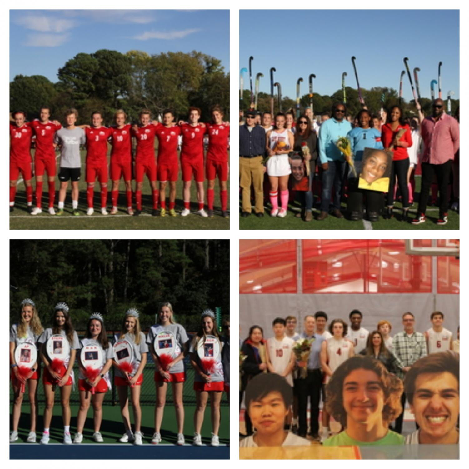 RED+%26+WHITE+OUT+-+The+Boys+Varsity+soccer+team%2C+Girls+Varsity+tennis%2C+Girls+Varsity+Field+Hockey%2C+and+Boys+Varsity+Volleyball+teams%E2%80%99+seniors+were+a+sea+of+red+and+white.+Photo+Credits%3A++Mr.+Daniel+Burke
