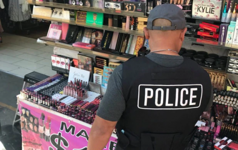 In April of 2018, police officers raided multiple locations in Los Angeles, California that, in total, had up to $700,000 dollars worth of counterfeit makeup. The majority of the makeup products contained bacteria and human waste.  Photo Credit: https://nypost.com/2018/04/16/animal-feces-and-urine-detected-in-conterfeit-makeup/