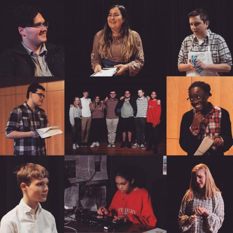 The cast of the Student Directed Play worked diligently and put in hours of rehearsal to produce a comedic, SNL-inspired show on January 31, 2020.